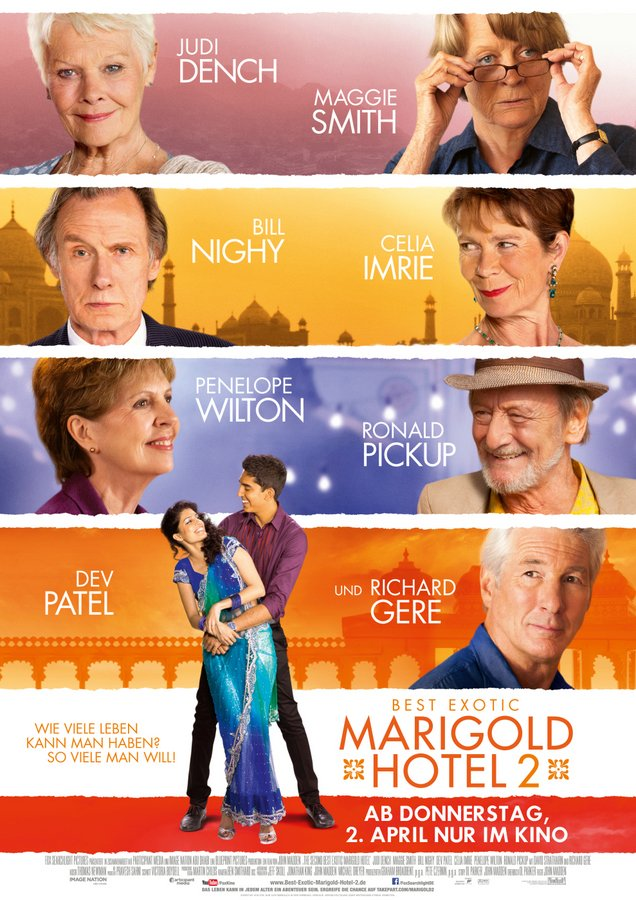 Exotic Marigold Hotel 2