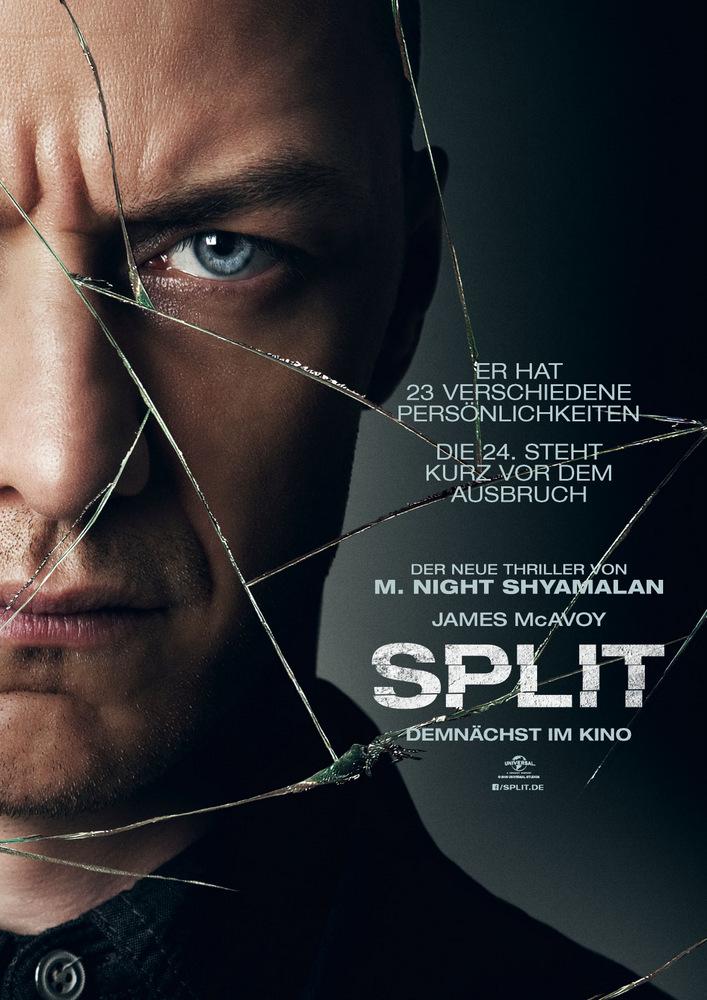 Bildergebnis für split film plakat